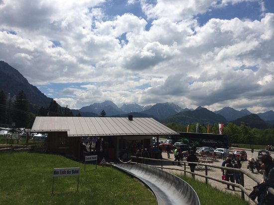 Bus Bavaria Neuschwanstein Castle Tours: Alpine Slide