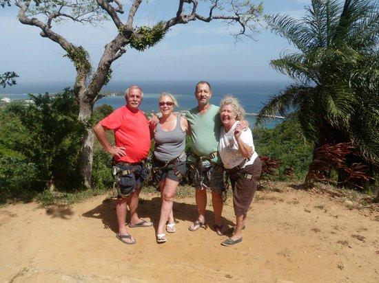 Jungle Top Zipline Adventure: New Friends
