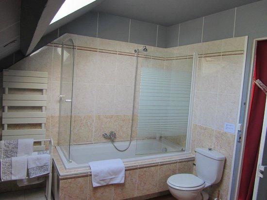 Les Jardins d'Helene: Blue Moon bathroom