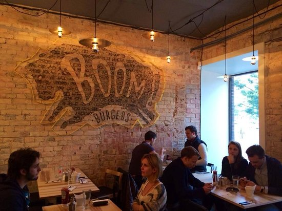 Photo of BBQ Joint Boom Burgers Lithuania at Gedimino Pr. 1, Vilnius 01103, Lithuania