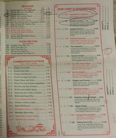 Current Menu - Picture of Peking Wok, Perkasie - TripAdvisor