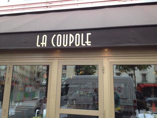 La Coupole : Entrada