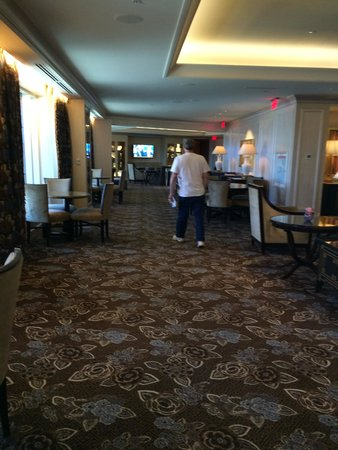 The Palazzo Resort Hotel Casino: this is the floor where you have the breakfast and other snacks.. yummy