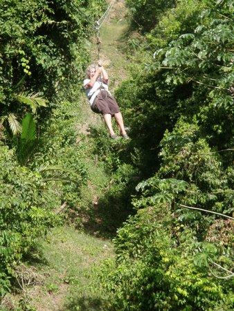 Jungle Top Zipline Adventure: Ms Judy