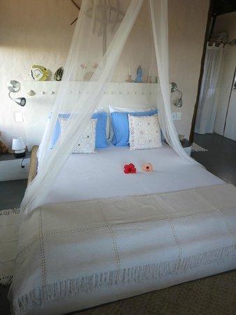 Eco-Pousada Casa Bobo : dormitorio