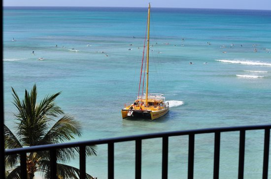 Outrigger Waikiki Beach Resort: Room view