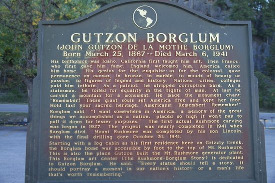 Gutzon Borglum Historical Center