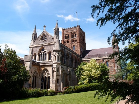 St Albans Cathedral: The cathedral