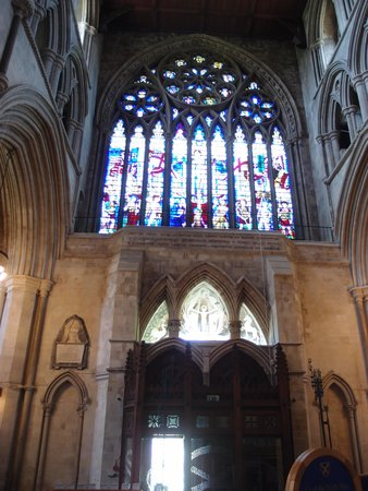 St Albans Cathedral: More of St Albans interior