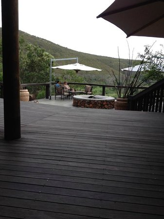 Botlierskop Private Game Reserve: Outside Decking