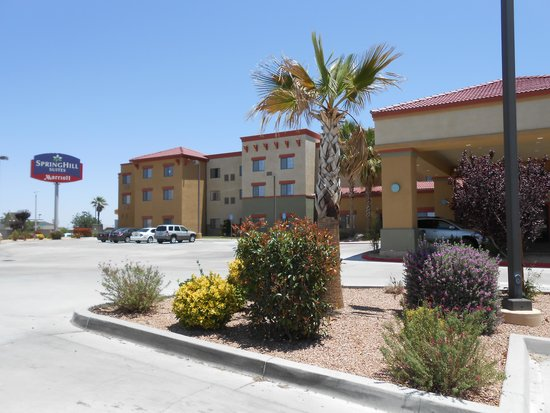 SpringHill Suites Victorville Hesperia: the hotel