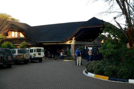 Keekorok Lodge-Sun Africa Hotels : entree