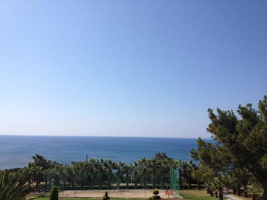 Rodos Princess Beach Hotel : Meerblick