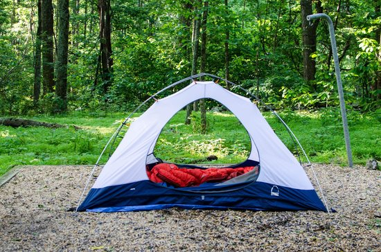 Sky Meadows State Park: Secluded quiet tent sites