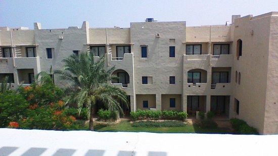 Marina Lodge at Port Ghalib: chambres situées en face