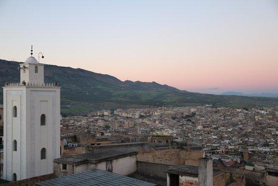 Palais Faraj Suites & Spa : Vue de la terrasse du restaurant