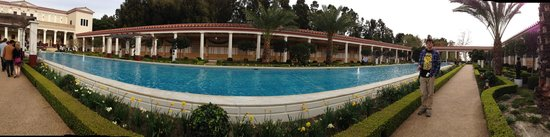 The Getty Villa: Peristyle
