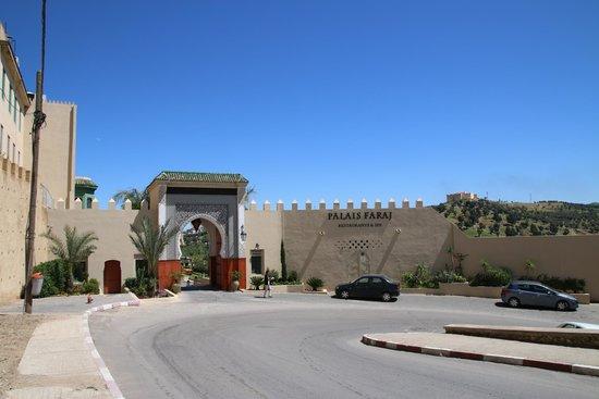 Palais Faraj Suites & Spa: entrée principale