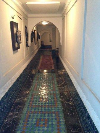 Palais Faraj Suites & Spa: Couloir du palais