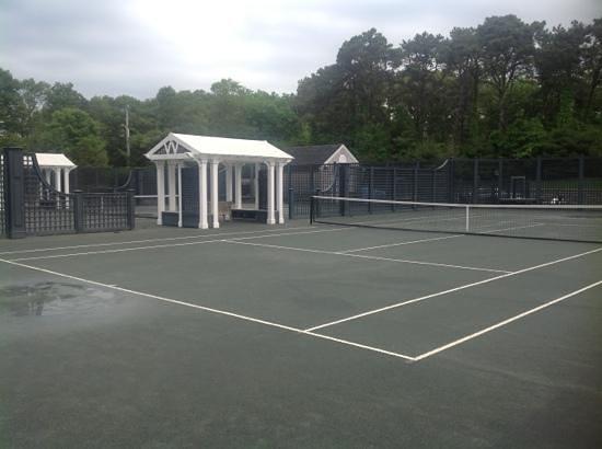 Wequassett Resort and Golf Club: Tennis Courts