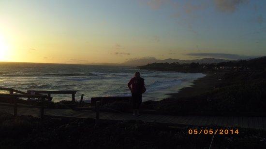 Moonstone Beach: incredible sunset