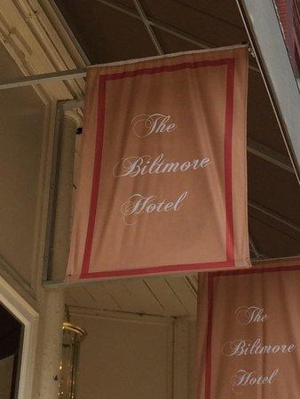 The Biltmore Greensboro: hotel sign