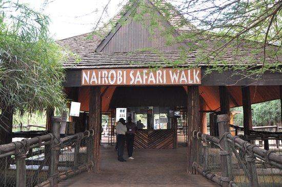 Nairobi Safari Walk: Entrada do Zoo