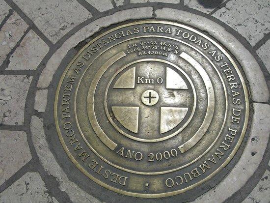 Praça do Marco Zero: Marco Zero