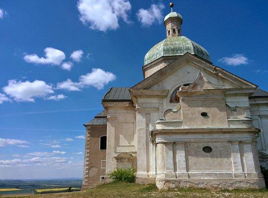 Hotel Galant: Saint Sebastien's chapel at the top of Holy Hill