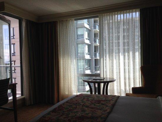 Victoria Marriott Inner Harbour : Balcony room