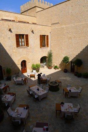 Castell Son Claret: Zaranda