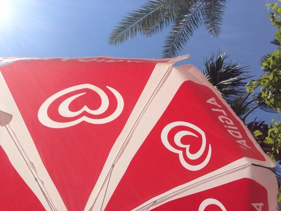 Ozturk Apart: View from sun bed ;)