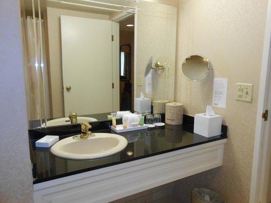 Park MGM Las Vegas : the bathroom
