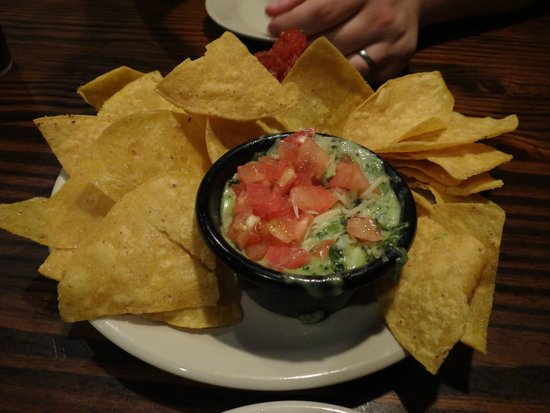 Sticky Fingers : Starter - Spinach and Artichoke Dip