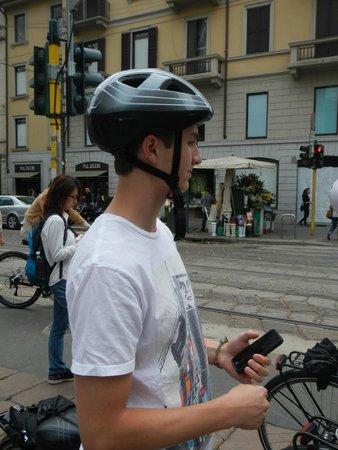 Milan Bike & the City tour June 2014