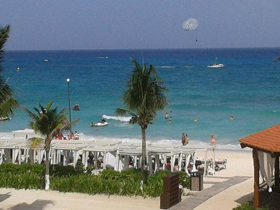 The Royal Playa del Carmen : Vista desde el cuarto