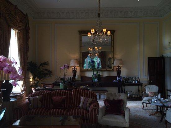 Lucknam Park: Mr. Darcy's room