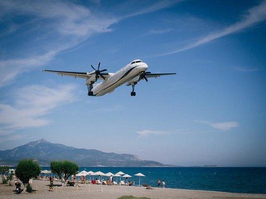 Fito Aqua Bleu Resort: The beach close to the hotel