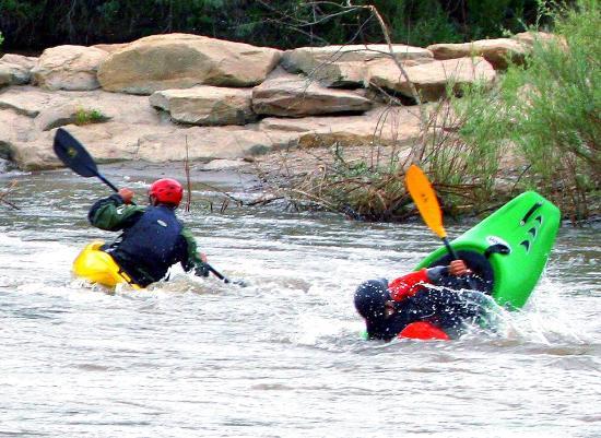 Farmington, NM: Kayaking the Animas river