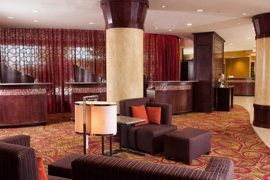 Greenville Marriott: Our Spacious Lobby