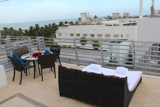Z Ocean Hotel South Beach : rooftop view