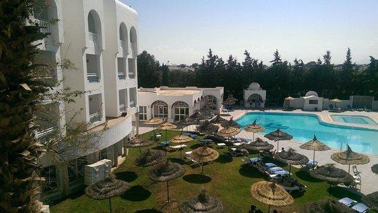 Hotel Menara: Vu de la chambre top...