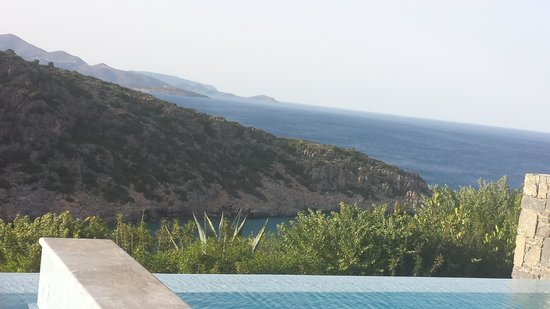 Daios Cove Luxury Resort & Villas: The view from the room