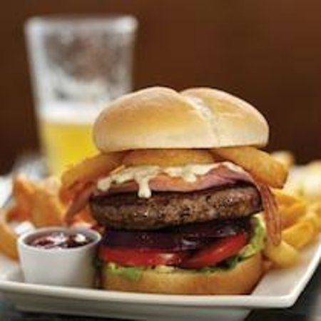 The Grand Electric Hall: Gourmet Burger