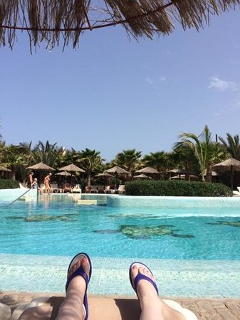 Riu Palace Cabo Verde : pool relaxaion