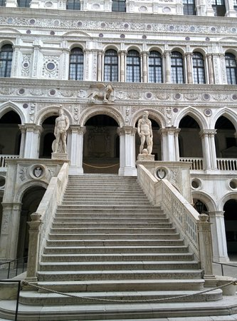 Dogenpalast (Palazzo Ducale): The grand staircase Doge Palace