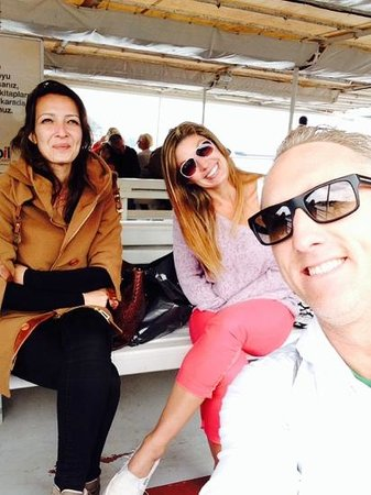 Daily Istanbul Tours: Selfie on Bosphorous Cruise