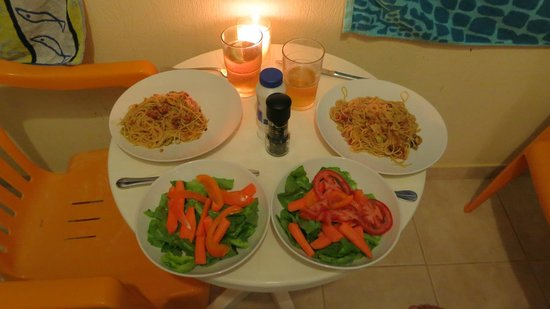 Mythos Studios: Proof that you can cook on two rings!