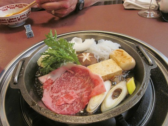 Asakusa Imahan Kokusai Dori Honten : And the food here is excellent