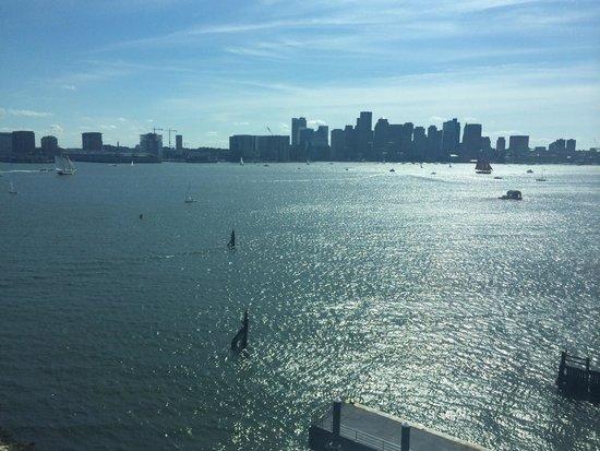 Hyatt Regency Boston Harbor : View from our room.